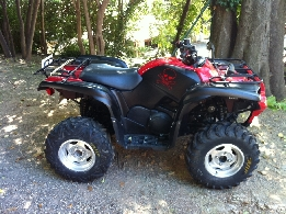 Quad occasion : YAMAHA Grizzly 550 RED DIAMOND