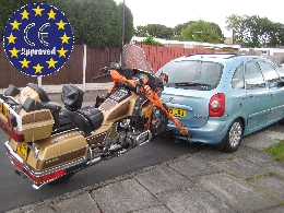 "Accessoires, Remorque occasion :  REMORQUE MOTO ""BIKE CARRIER"" NEW IN EUROPE"