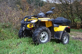 Quad occasion : CAN-AM BOMBARDIER Outlander 650 xt