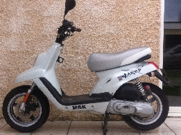 Scooter occasion : MBK Booster Spirit 50 NACKED 12P