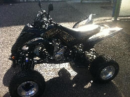 Quad occasion : YAMAHA YFM 700 R Raptor edition limite 2012 black and gold
