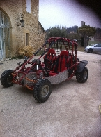 Buggy / SSV occasion : IT DIFFUSION Buggy Rider 250 kandi