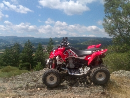 Quad occasion : POLARIS Outlaw 525