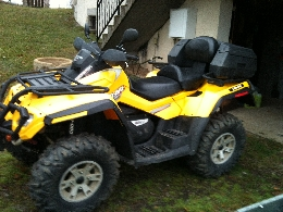 quad can am outlander 650 occasion