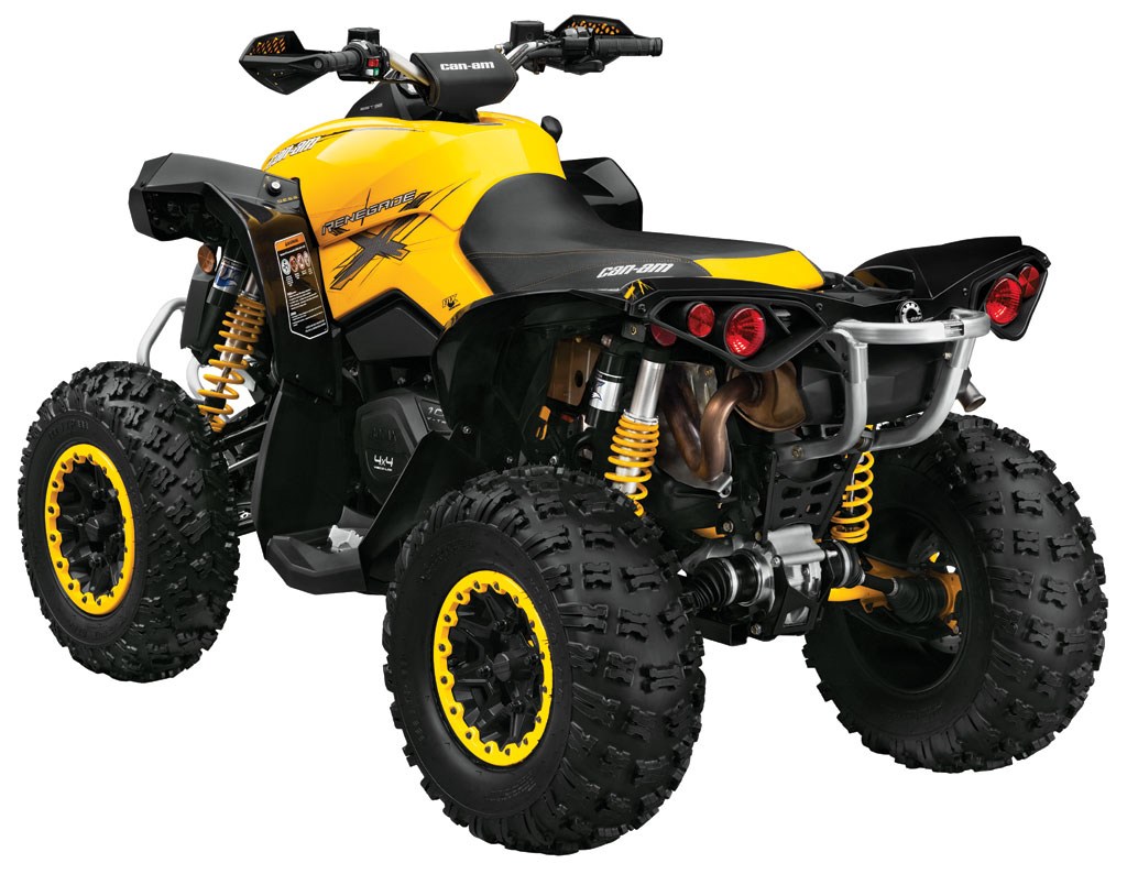 Can Am Renegade 800 >> Fiche & Revue technique CAN-AM BOMBARDIER Renegade 1000 X ...