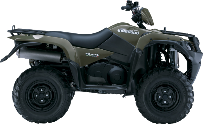 SUZUKI Kingquad LTA 500 AXi 4x4 Power Steering 2011 photo 2