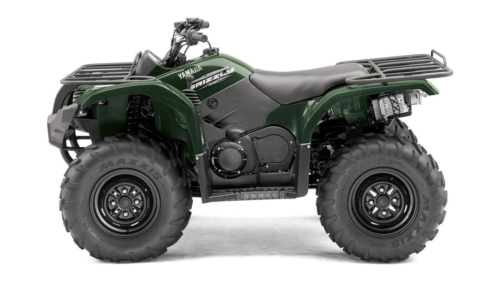 YAMAHA Grizzly 450  2011 photo 2