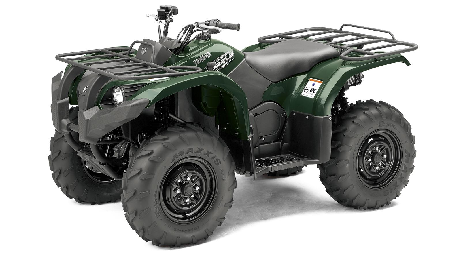 YAMAHA Grizzly 450  2011 photo 3