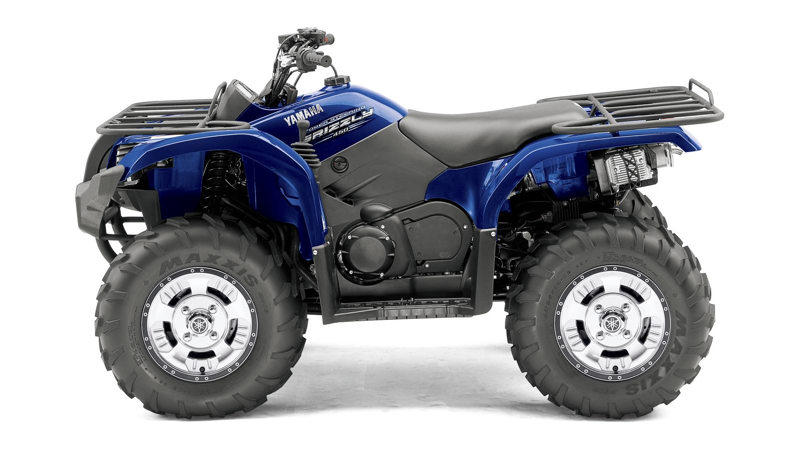 YAMAHA Grizzly 450  2011 photo 5