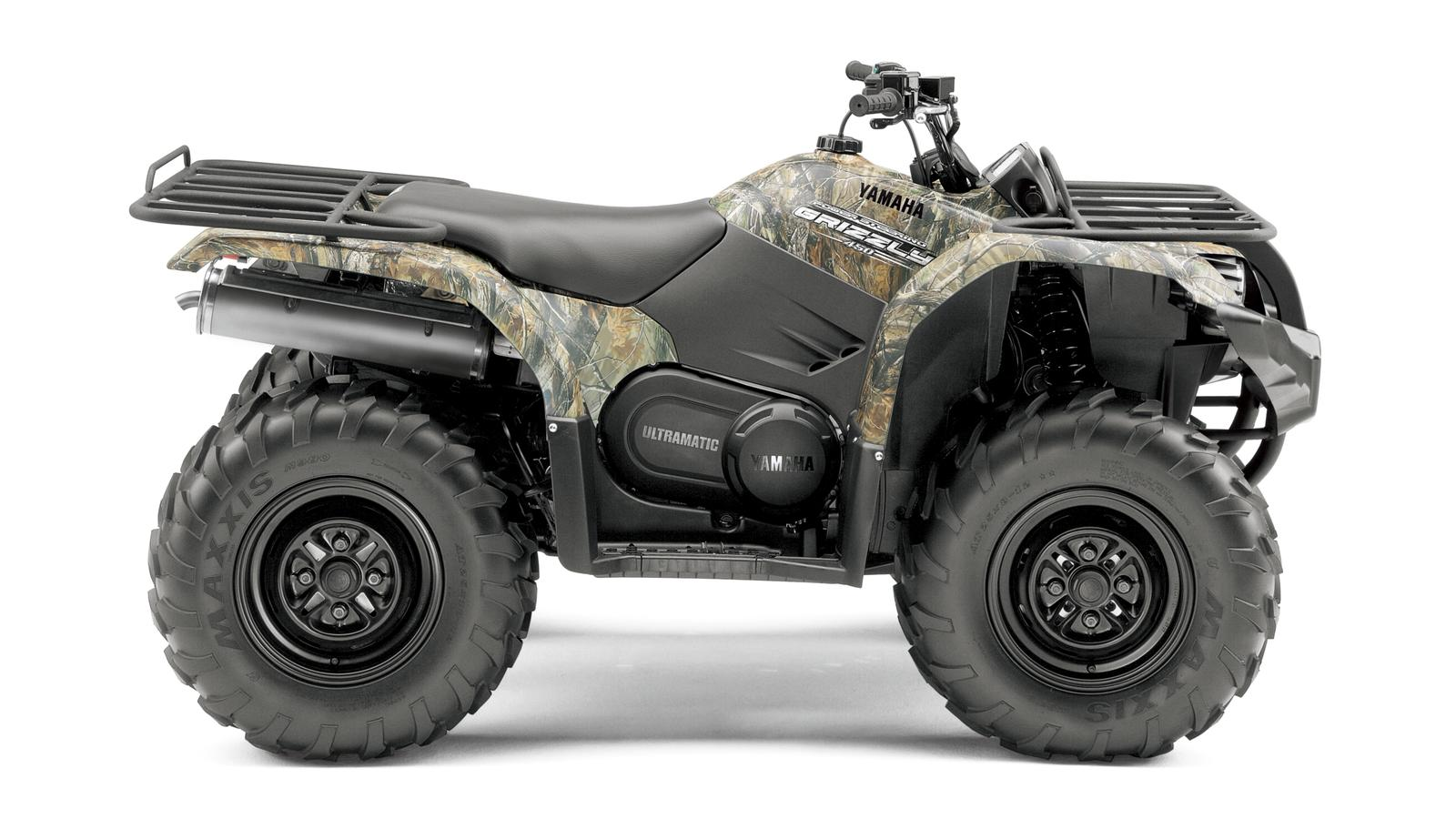 YAMAHA Grizzly 450  2011 photo 8