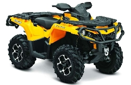 CAN-AM BOMBARDIER Outlander 1000 XT 2012