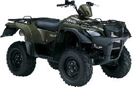 SUZUKI Kingquad LTA 500 AXi 4x4 Power Steering 2011