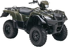 SUZUKI Kingquad LTA 750 AXi 4x4 Power Steering 2011