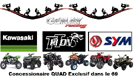 Concessionnaire / Garage / Magasin Moto, Scooter, Quad, Buggy / SSV Genay Racing à Genay
